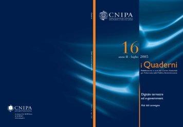 i Quaderni n. 16 - Cnipa