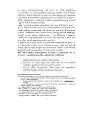 1 In attesa dell'approvazione del d.d.l. n° S772 (cosiddetto ... - sspal
