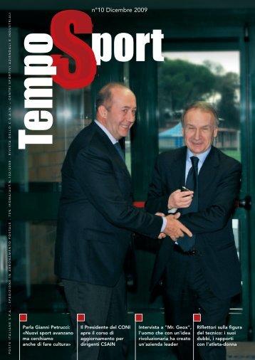 Tempo Sport n° 10 dicembre 09 - CSAIn