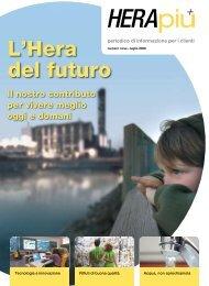 HeraPiù - periodico di informazione per i clienti - Il Gruppo Hera