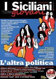ottobre 2012 - I Siciliani giovani
