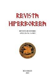 Nr. 1 2013 - Revista Hiperboreea