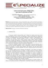 Lições de Erich Fromm e Philip Kotler para uma Profissional ... - IPOG