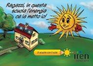 A scuola con il sole - Iren Emilia