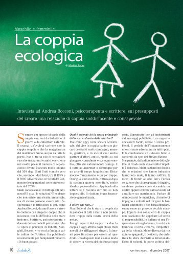 La coppia ecologica - Associazione Che Passo!