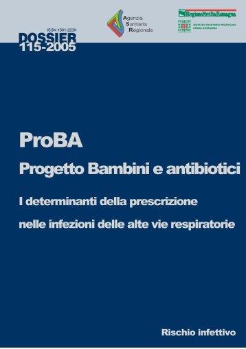 ProBA - Agenzia sanitaria e sociale regionale - Regione Emilia ...