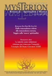 Mysterion - rivista di spiritualità e mistica