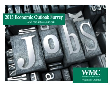 2013 Economic Outlook Survey