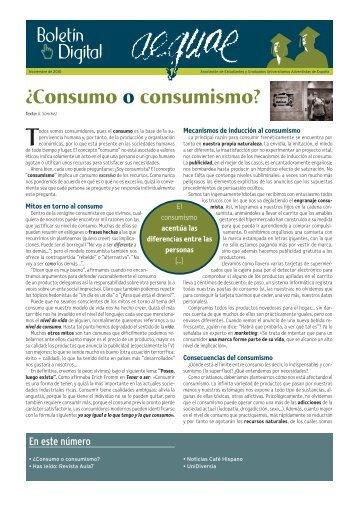 ¿Consumo o consumismo? - Aula7Activa.org