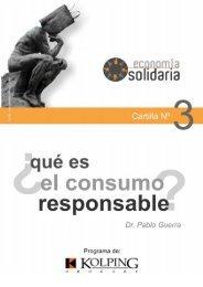 El consumo responsable es una vía