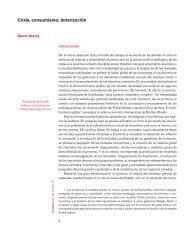 Crisis, consumismo, dolarización - Facultad de Economía