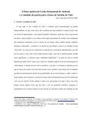 O Deus apático de Carlos Drummond de Andrade e o ... - ALALITE.org