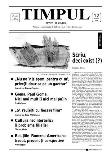 [+] descarca in format .PDF - Timpul