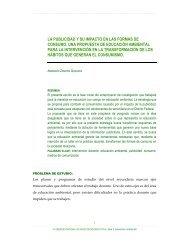 La publicidad y su impacto en las formas de consumo. - Consejo ...