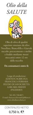 Olio di Savochetta - Page 6