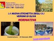 La nuova etichetta degli oli vergini di oliva - Portale dell'innovazione ...
