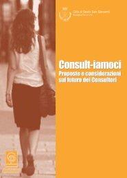 Consult-iamoci: proposte e considerazioni sul futuro dei consultori
