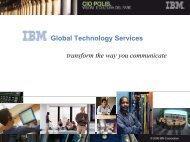 Scarica la presentazione - IBM