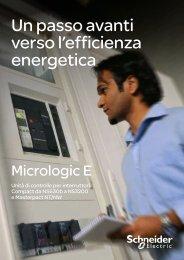 Scarica la brochure Micrologic E - Schneider Electric