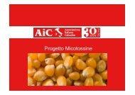 Progetto Micotossine - AIC Lombardia
