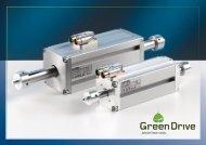 Motori lineari tubolari Green Drive - Nitek