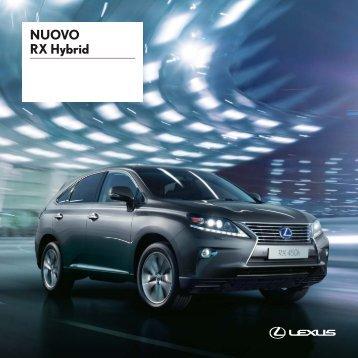 NUOVO RX Hybrid - Lexus