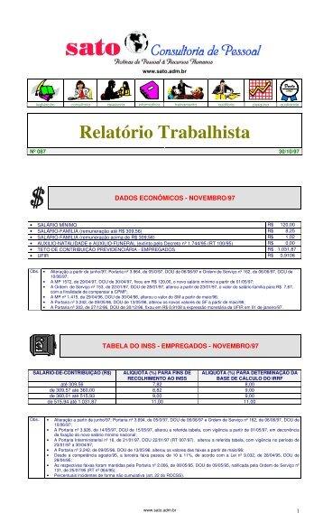087 - Sato Consultoria de Pessoal