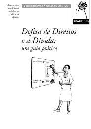 Defesa de direitos e a dívida - documento completo