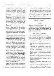 DGR n. 281 del 15.06.2009 - Regione Abruzzo