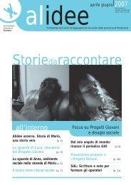 Aprile/ Giugno 2007 - Provincia di Pordenone