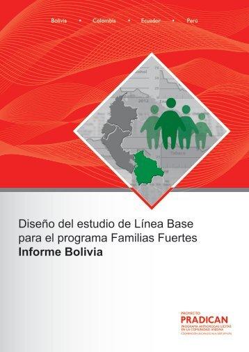 Diseño del estudio de Línea Base para el programa Familias ...
