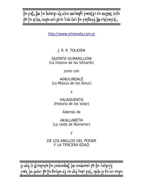 Silmarillion Pdf Indonesia
