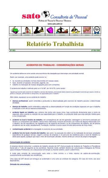 063 - Sato Consultoria de Pessoal