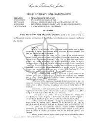 Superior Tribunal de Justiça - Ministério Público do Estado de Goiás