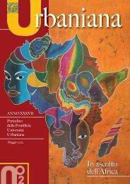 In ascolto dell'Africa In ascolto dell'Africa - Pontificia Università ...