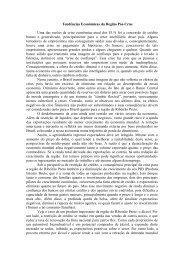 Tendências Econômicas da Região Pós-Crise Uma ... - fea-RP - USP