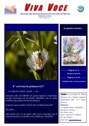 N°9 Aprile-Maggio - Azienda Sanitaria Provinciale di Palermo