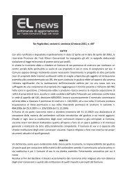 Tar Puglia Bari, sezione II, sentenza 10 marzo 2011 ... - Edk Editore Srl