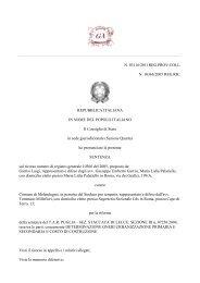 Consiglio di Stato, Sez.. IV, 24.5.2011, n. 3116 - Gazzetta ...