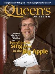 sıngabout in theBig Apple - Queen's University