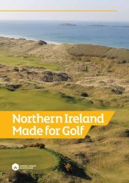 Northern Ireland Made for Golf - Discover Northern Ireland