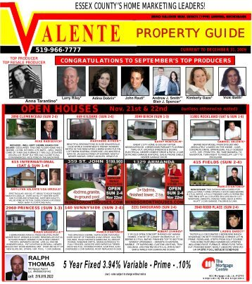 Essex county's home marketing leaders! - Anna Tarantino