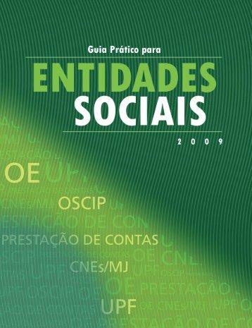Guia prático para Entidades Sociais