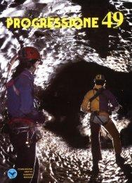Progressione 49.pmd - Commissione Grotte Eugenio Boegan
