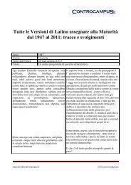 Analisi contrastiva latino dating