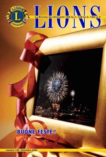 Numero 128 – Dicembre 2006 - Rivista Lions