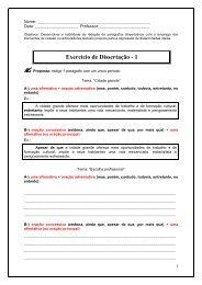 Exercício de Dissertação - 1 - Focus Concursos
