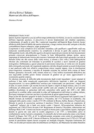 «Eviva Eviva i Taliani» - Il mondo degli Schützen