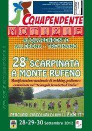 Agosto - Settembre 2012 - Comune di Acquapendente