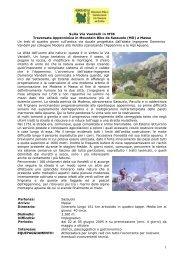 Sulla Via Vandelli in MTB Traversata Appenninica in Mountain Bike ...